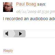 Audio Comments