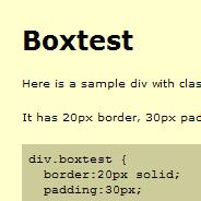 Box Model Hack