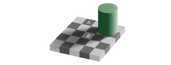 Which Square is Darker?