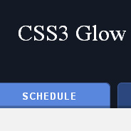 CSS3 Glow Tabs