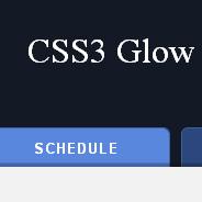 CSS3 Glow Tabs - Impressive Webs
